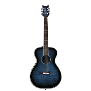 Daisy Rock Pixie Series Acoustic-Electric Guitar - Blueberry Burst