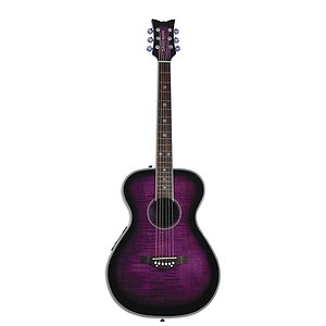 Daisy Rock Pixie Series Acoustic-Electric Guitar - Plum Purple Burst