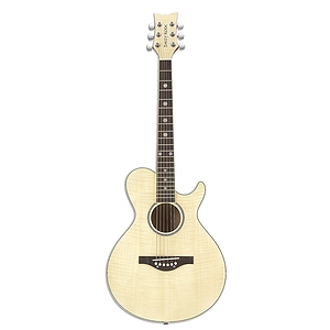 Daisy Rock Wildwood Series 3/4-size Acoustic Guitar - Bleach Blonde