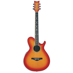 Daisy Rock Wildwood Artist Deluxe Acoustic-Electric Guitar - Sunset Burst