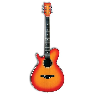 Daisy Rock Wildwood Artist Deluxe Left Handed Acoustic-Electric Guitar - Sunset Burst