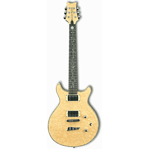 Daisy Rock Stardust Venus Electric Guitar - Vintage Ivory Pearl - Left-Handed
