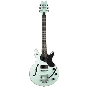 Daisy Rock Stardust Retro-H De-Luxe Guitar - Sea Foam Green