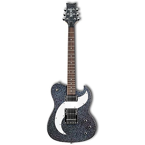 Daisy Rock Tom Boy Deuce Guitar - Rainbow Sparkle