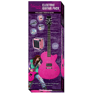Daisy Rock Rock Candy Electric Guitar Pack (Atomic Pink)