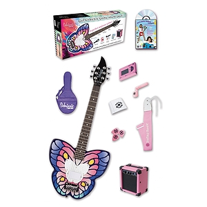 Daisy Rock Debutante Butterfly 3/4-size Electric Guitar Starter Pack