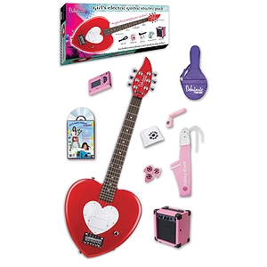 Daisy Rock Debutante Heartbreaker Electric Guitar Pack - Red Hot Red