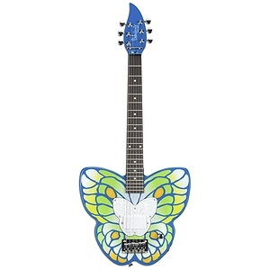Daisy Rock Debutante Butterfly Short Scale Electric Guitar - Daydream