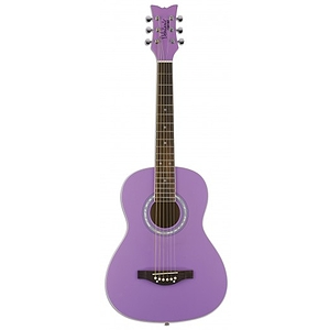 Daisy Rock Junior Miss Acoustic Short Scale Guitar - Popsicle Purple