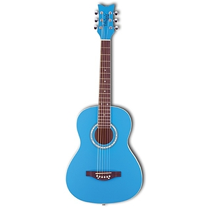 Daisy Rock Junior Miss Acoustic Short Scale Guitar - Blue