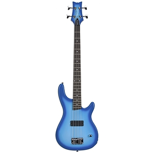 Daisy Rock Debutante Rock Candy Petite Bass - Blue Moon Burst