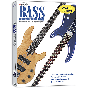 eMedia Bass Basics Bass Guitar Instruction Software