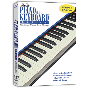 eMedia Piano/Keyboard Basics Instruction Software
