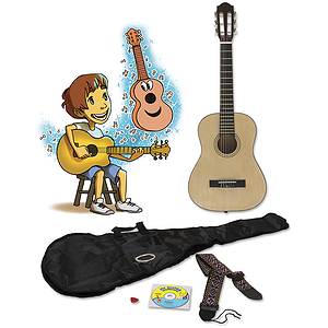 eMedia My Guitar Pack Children's Acoustic Guitar Starter Pack with Instructional Software