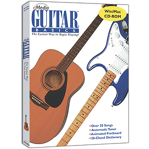 eMedia Guitar Basics Guitar Instruction Software