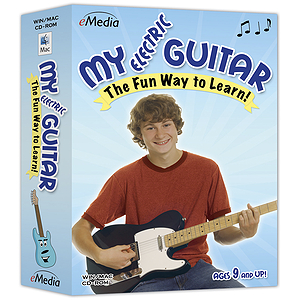 eMedia My Electric Guitar Guitar Instruction Software