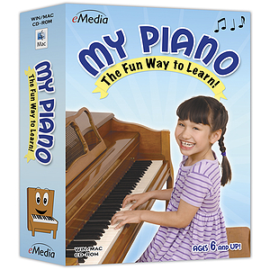 eMedia My Piano Piano / Keyboard Instruction Software