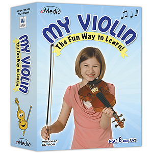 eMedia My Violin Violin Instruction Software