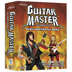 eMedia Guitar Master Guitar Instruction Software