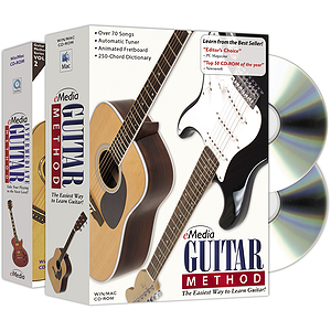 eMedia Guitar Method Deluxe (2 Volume Bundle) Guitar Instruction Software