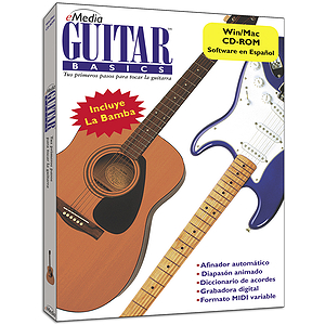 eMedia Guitar Basics - Spanish Guitar Instruction Software - Spanish Language Version