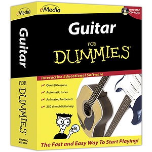 Guitar For Dummies CD-ROM Guitar Instruction Software