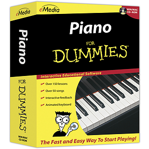 Piano For Dummies CD-ROM Piano / Keyboard Instruction Software