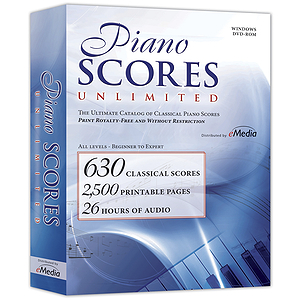 IPE Piano Scores Unlimited Piano / Keyboard Software