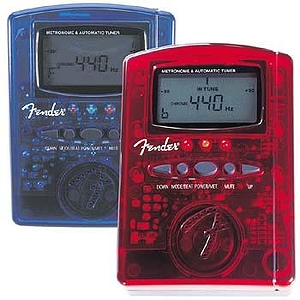 Fender® MT-1000 Chromatic Tuner/Metronome - Blue