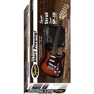 Squier® SE Special Electric Guitar Starter Pack - Black