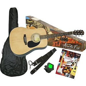 Fender Squier SA-100 Dreadnought Acoustic Guitar Starter Kit
