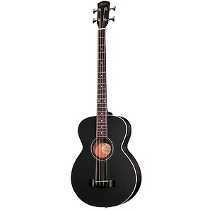 Fender® BG-31 Acoustic-Electric Bass Guitar - Black with Gig Bag