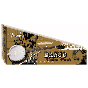 Fender® FB-300 Banjo Package