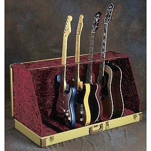 Fender® Case Stand - Studio Guitar Stand (7 guitars), Black