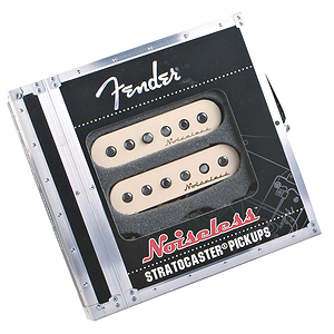 Fender® Vintage Noiseless Strat Pickups - Set of 3, white