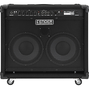 "Fender® Rumble™ 100/210 Bass Combo Amplifier - 2x10"", 100-watt"