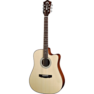 Guild® GAD-40CE Dreadnought Acoustic-Electric Guitar w/hardshell case