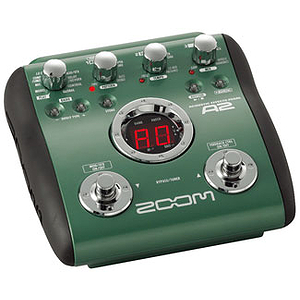 Zoom A2 Multi-Effects Acoustic Guitar Pedal