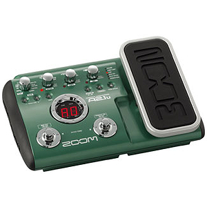 Zoom A2.1u Multi-Effects Acoustic Guitar Pedal w/Expression Pedal, USB Interface