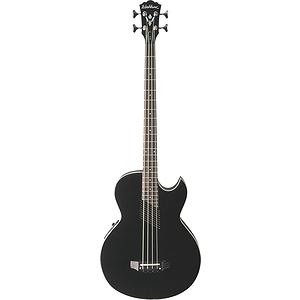 Washburn AB10 Acoustic Bass Guitar - Black - with gig bag