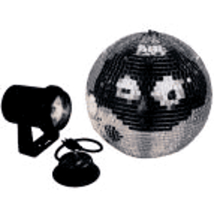 "American DJ M-100L 8"" Mirror Ball Package"
