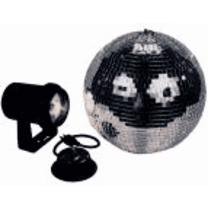American DJ M-500L 12&quot; Mirror Ball Package