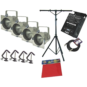 American DJ Stage System B Add-On w/Dimmer and Par Cans