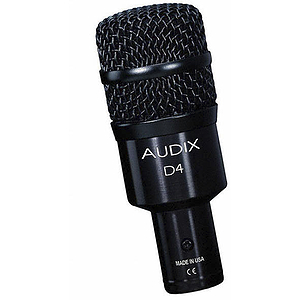 Audix D4 Dynamic Drum Microphone