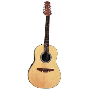 Ovation Applause AE35 Roundback Deep-bowl 12-string Acoustic-Electric Guitar - Natural