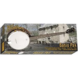Washburn B8K Banjo Starter Pack