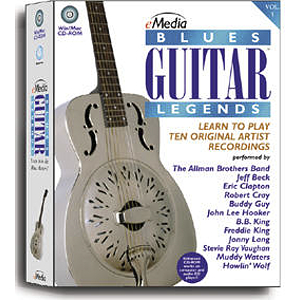 eMedia Blues Guitar Legends CD-ROM