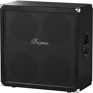 Bugera 412F-BK 200 Watt Straight Guitar Cabinet *