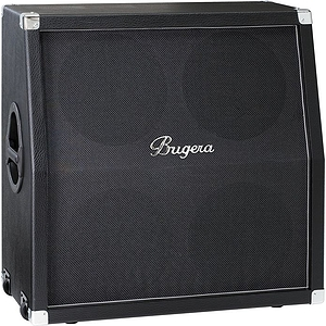Bugera 412H-BK 200W 4x12In Guitar Speaker Cabinet