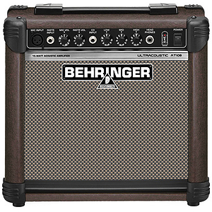 Behringer Ultracoustic AT108 15-watt Acoustic Guitar Amplifier